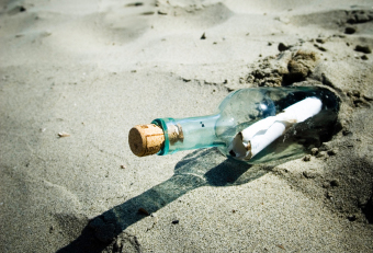Image: Message in a bottle